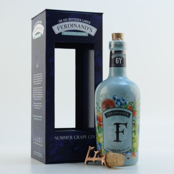 Ferdinand's Summer Grape Gin: collectors item